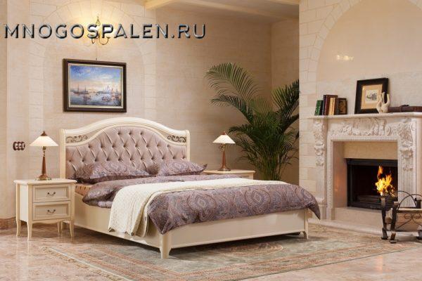 Спальня Флоренция купить в салоне-студии мебели Барселона mnogospalen.ru много спален мебель Италии классические современные