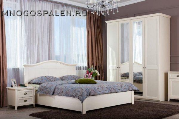 Спальня Лагуна купить в салоне-студии мебели Барселона mnogospalen.ru много спален мебель Италии классические современные