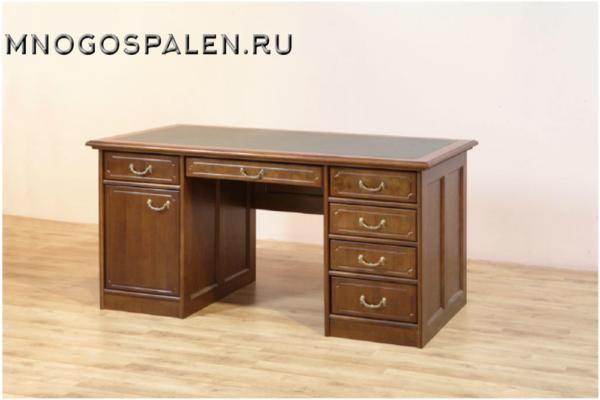 Стол письменный купить в салоне-студии мебели Барселона mnogospalen.ru много спален мебель Италии классические современные