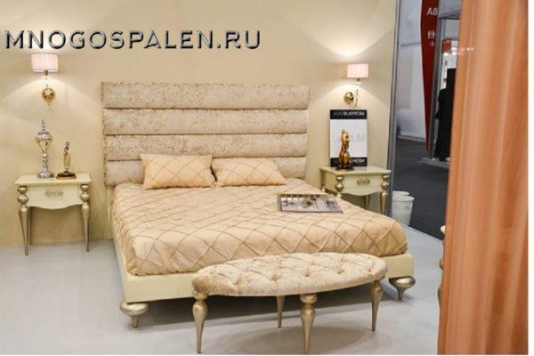 Кровать арт. MG.BD.GA.104 купить в салоне-студии мебели Барселона mnogospalen.ru много спален мебель Италии классические современные