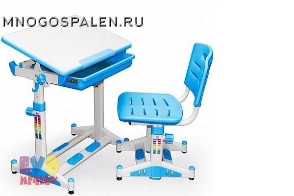 Комплект парта и стульчик Mealux EVO-06 New купить в салоне-студии мебели Барселона mnogospalen.ru много спален мебель Италии классические современные