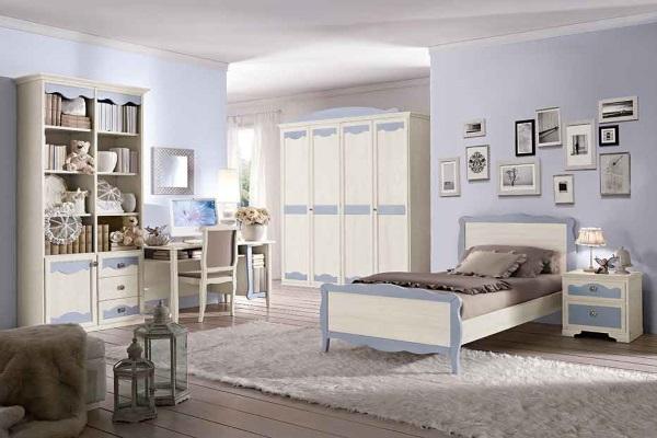 Детская Beverly (San Michele) купить в салоне-студии мебели Барселона mnogospalen.ru много спален мебель Италии классические современные