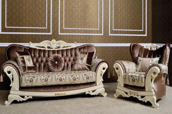Диван трехместный Leonardo купить в салоне-студии мебели Барселона mnogospalen.ru много спален мебель Италии классические современные