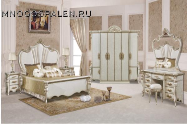 Спальня OPERA CREMA купить в салоне-студии мебели Барселона mnogospalen.ru много спален мебель Италии классические современные