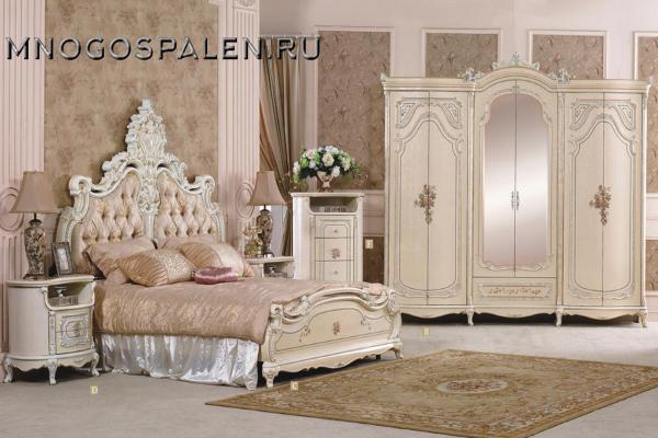 купить спальня королева салон итальянский мебели барселона в