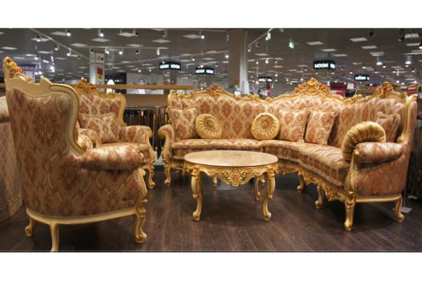 Диван Монако купить в салоне-студии мебели Барселона mnogospalen.ru много спален мебель Италии классические современные
