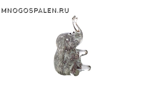 """Статуэтка """"Слон"""" (серая) купить в салоне-студии мебели Барселона mnogospalen.ru много спален мебель Италии классические современные"""