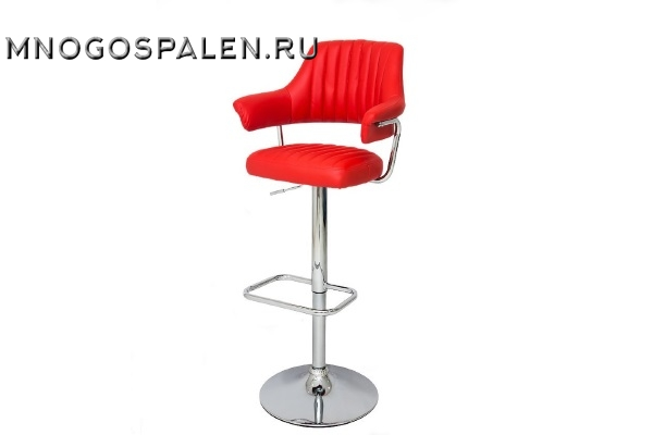Стул барный JY-1029(NEW) Red купить в салоне-студии мебели Барселона mnogospalen.ru много спален мебель Италии классические современные