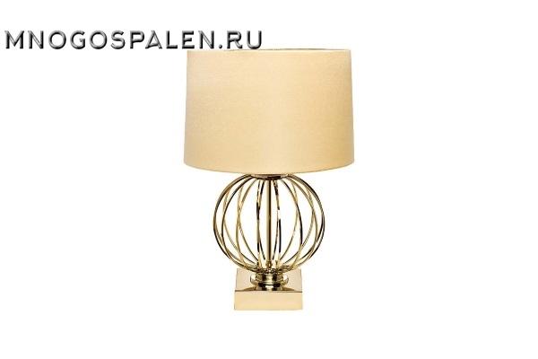 Настольная лампа золотая 22-86949 купить в салоне-студии мебели Барселона mnogospalen.ru много спален мебель Италии классические современные