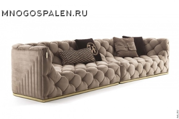 Диван Divano GM 03 купить в салоне-студии мебели Барселона mnogospalen.ru много спален мебель Италии классические современные