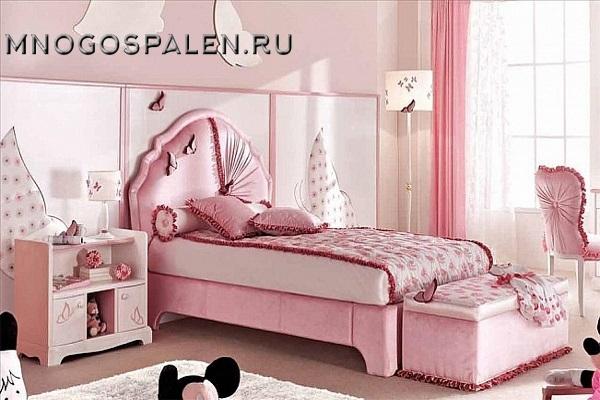 Кровать детская Bambino GM 10 купить в салоне-студии мебели Барселона mnogospalen.ru много спален мебель Италии классические современные