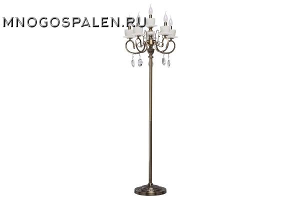 683040706 Свеча 6*60W E14 220 V торшер купить в салоне-студии мебели Барселона mnogospalen.ru много спален мебель Италии классические современные
