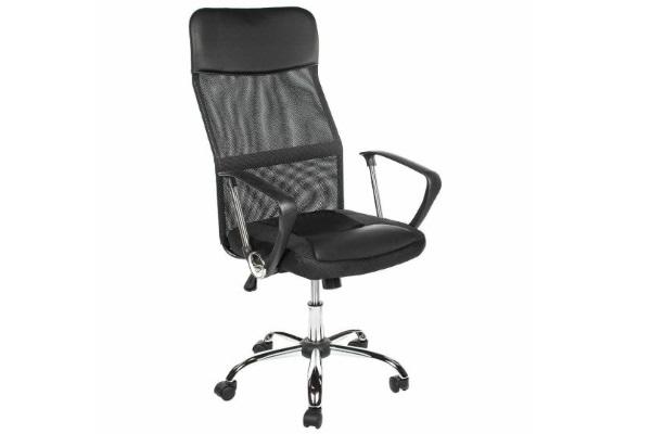 Компьютерное кресло ARANO черное купить в салоне-студии мебели Барселона mnogospalen.ru много спален мебель Италии классические современные