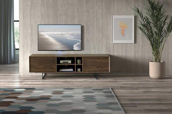 ТВ тумба DUPEN TV131 WALNUT купить в салоне-студии мебели Барселона mnogospalen.ru много спален мебель Италии классические современные