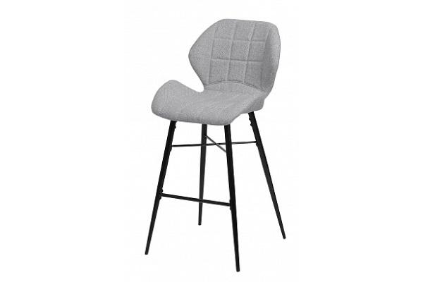 Барный стул MARCEL TRF-08 теплый серый, ткань М-City купить в салоне-студии мебели Барселона mnogospalen.ru много спален мебель Италии классические современные