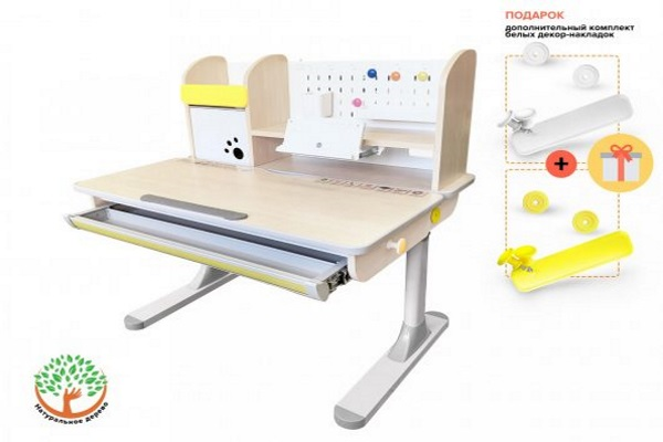 Детский стол Mealux Edmonton купить в салоне-студии мебели Барселона mnogospalen.ru много спален мебель Италии классические современные