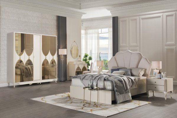 Спальня Solven купить в салоне-студии мебели Барселона mnogospalen.ru много спален мебель Италии классические современные